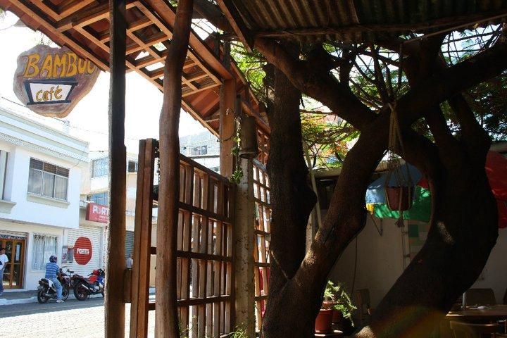 A cafe in Santa Cruz, Galapagos