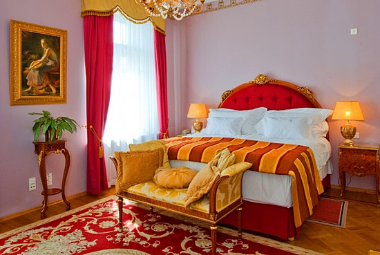 Suite at the Hotel National, Moscow Russia