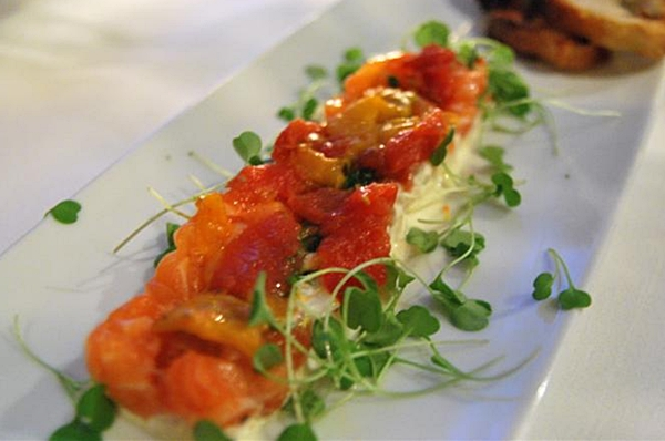 Salmon Tartare, Park Avenue Summer NYC