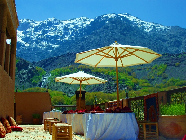 Terrace Restaurant at Kasbah du Toubkal