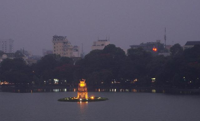 Tortoise Pagoda, Hanoi