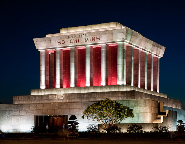 The Ho Chi Minh Mausoleum, Hanoi