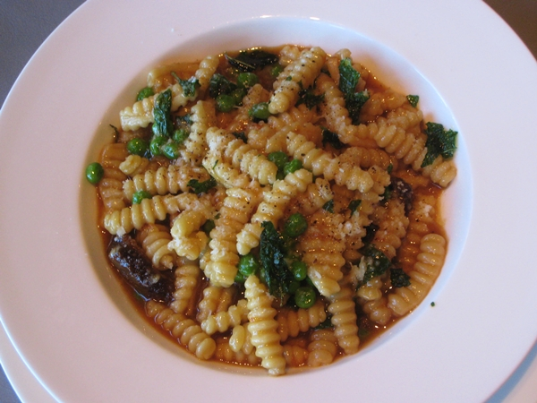 Cavatelli with braised lamb, Riverpark NYC