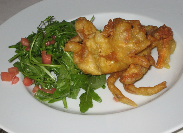 Soft Shell Crab Tempura, The Carlyle Restaurant, NYC