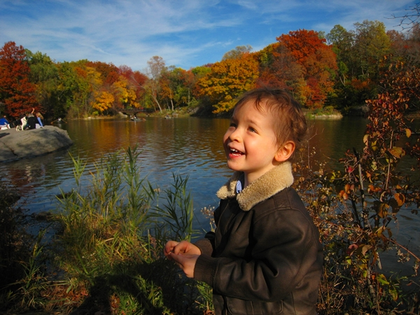 Kids and Families love Central Park, New York