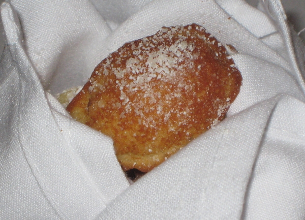 Warm Buttery Madeleines, Cafe Boulud NYC