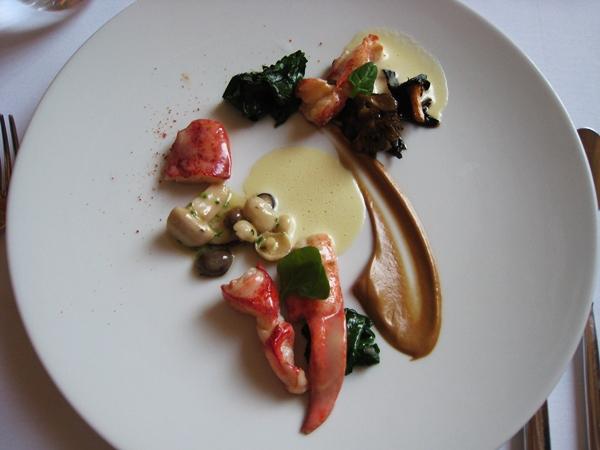 Lobster, Eleven Madison Park, New York-British Airways Visa Michelin Restaurant Dining Promotion NYC