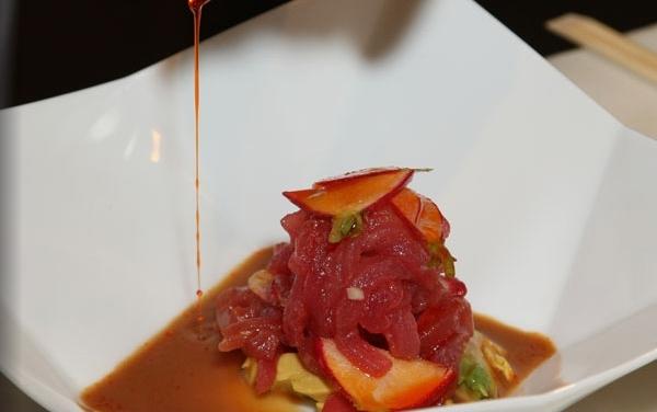 Tuna Ribbons, Jean-Georges, New York - British Airways Visa Michelin Restaurant Dining Promotion NYC