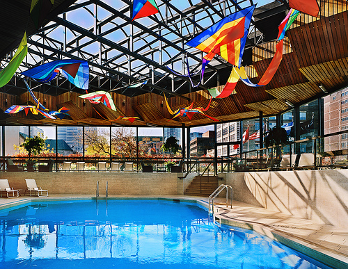 Pool at the Hyatt Regency Montreal