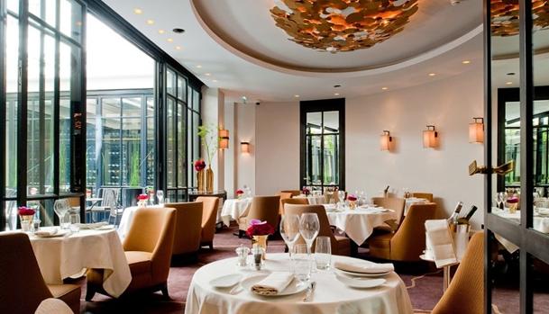 Le Baudelaire Restaurant, Le Burgundy Paris