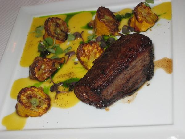Caramelized Beef Tenderloin, Jean Georges New York