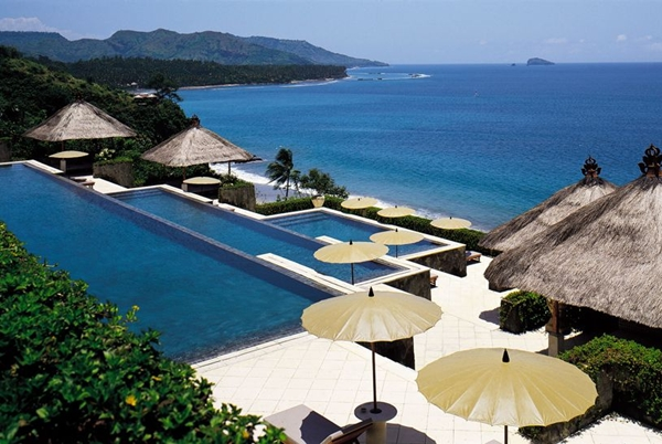 Luxury Travel and Resorts with No Kids - Amankila, Bali