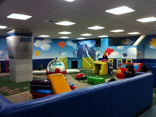 Best Airports for Kids-Seattle Airport Kids Area