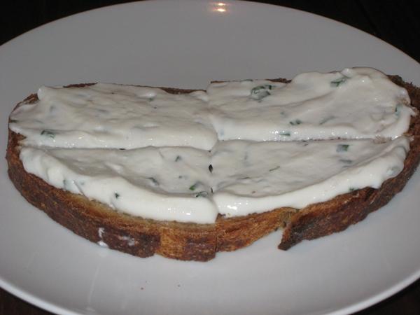Hospoda NYC Review: Complimentary rye bread