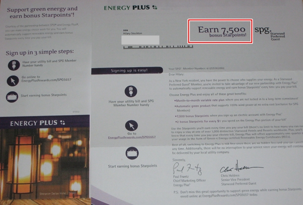 Is Energy Plus a Scam? The SPG 7500 Starpoints Bonus Offer
