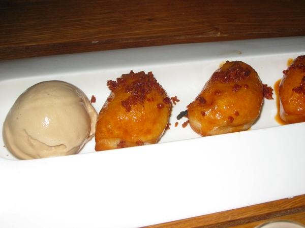Traif-NYC Restaurant Review-bacon doughnuts