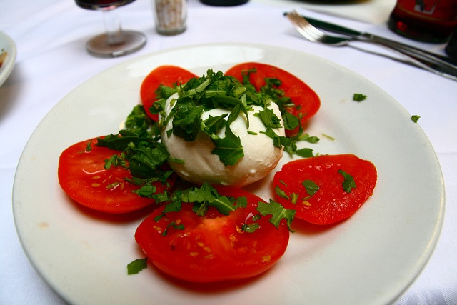 Caprese Salad in Siena