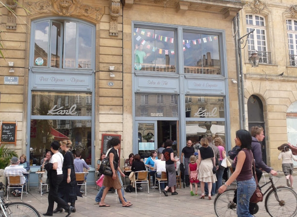 Food, Romance and Adventure in Bordeaux-Cafe Karl