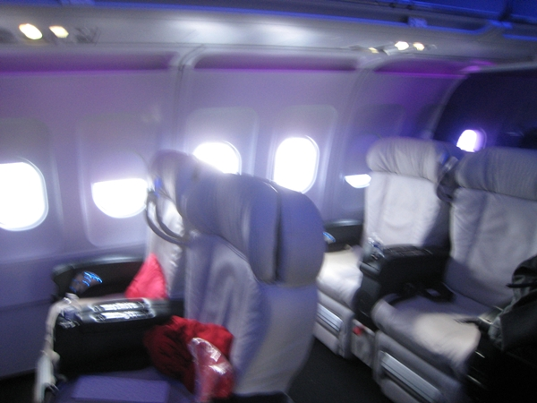 Virgin America First Class Review