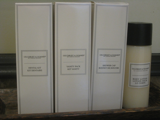 The Royal Hawaiian Hotel Review-Gilchrist & Soames toiletries