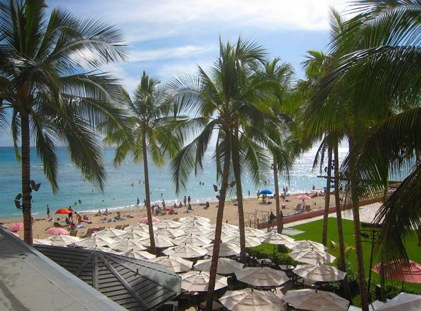 The Royal Hawaiian Hotel Review-Royal Ocean Junior Suite view
