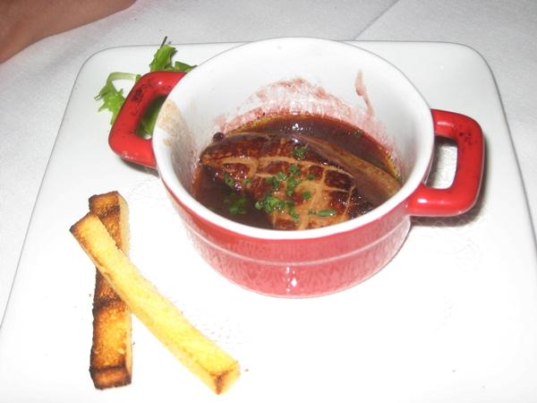 Le Bistro, Honolulu Restaurant Review-Foie Gras