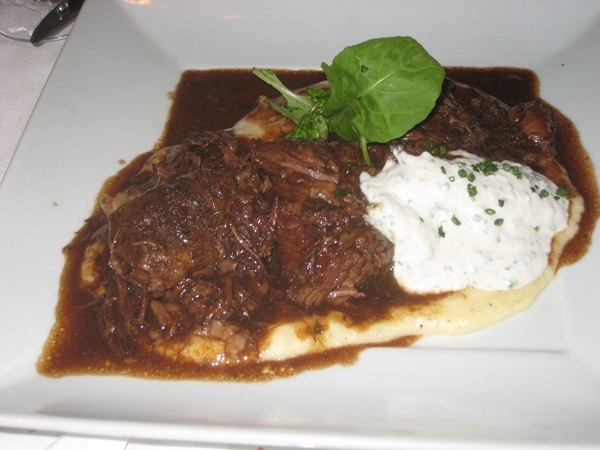 Le Bistro, Honolulu Restaurant Review-Braised Shortribs