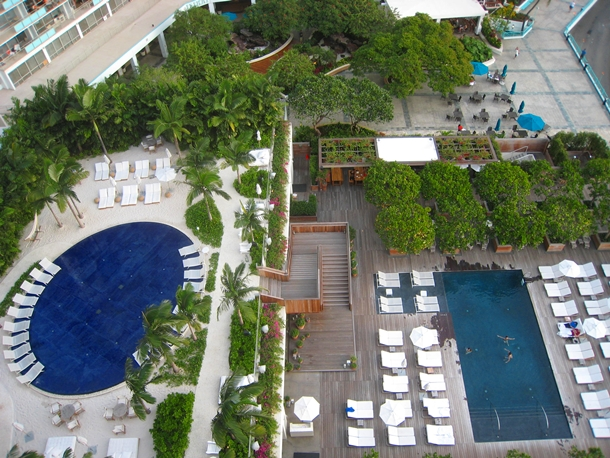 The Modern Honolulu Hotel Review-Sunset and Sunrise Pools