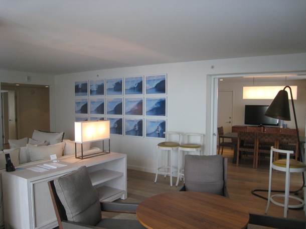 The Modern Honolulu Hotel Review-Penthouse Living Area