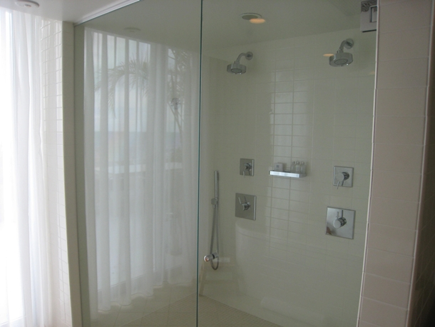 The Modern Honolulu Hotel Review-Penthouse Shower for Two