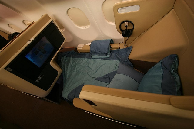 Singapore Airlines Business Class Awards Bookable on United