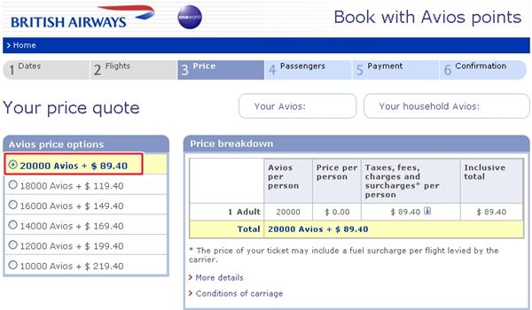 50% AMEX Transfer Bonus to British Airways Avios-Best Deals