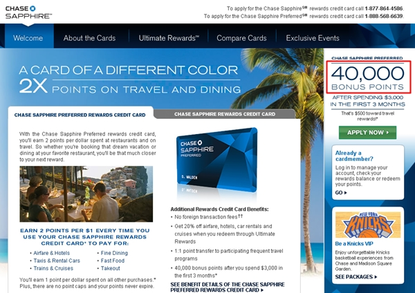 Chase Sapphire Preferred 50 000 Bonus Points Last Chance