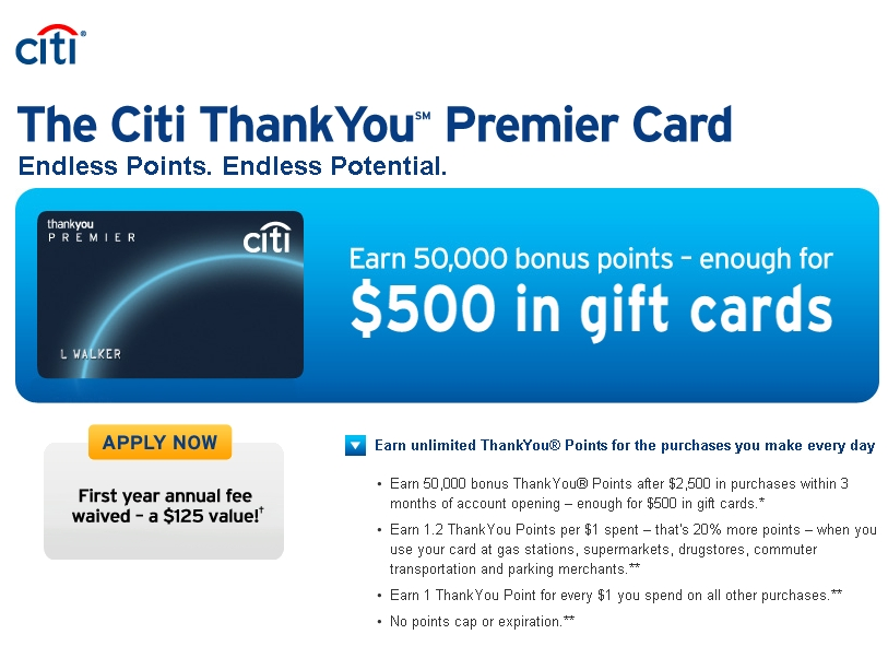 Citi Thankyou Card Travel Insurance