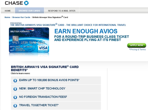 British Airways Visa 100,000 Bonus Avios-Worth It?