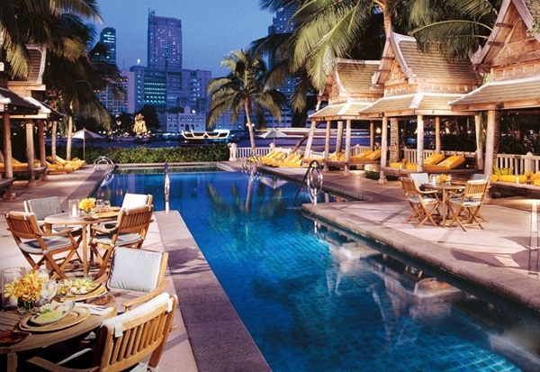 Best luxury hotels in bangkok for Best accommodation