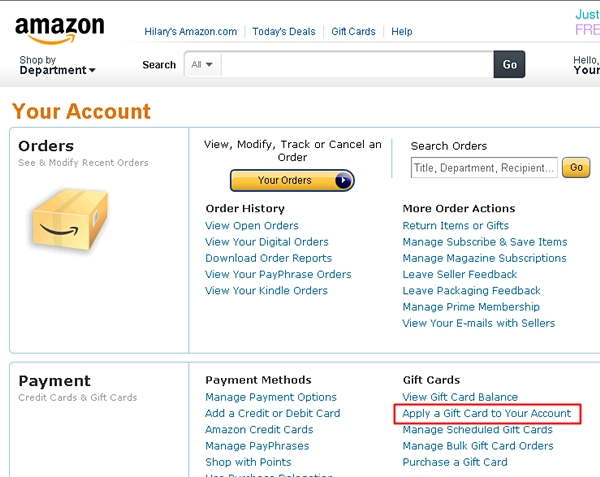 5x Points for All Amazon Spend and 10% Off Amazon Gift Cards at ...
