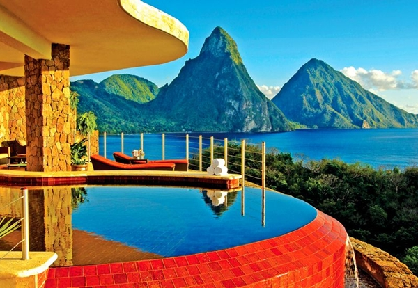Best luxury hotels in st lucia for Top 20 hotels