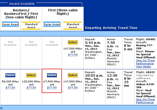 Does Swiss First Class Award Availability Exist?