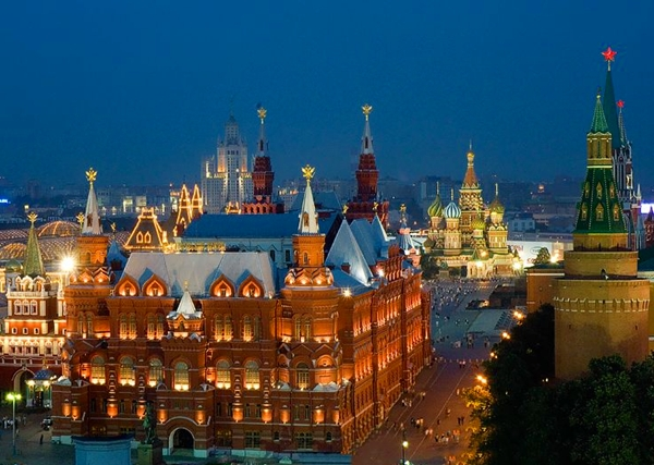 Top Luxury Hotels in Moscow, Russia