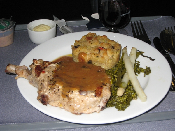 United BusinessFirst Pork Chop