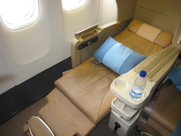 Best Ways to Use United Miles - Singapore Old Business Class
