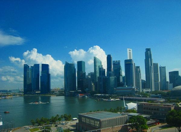 Mandarin Oriental Singapore Hotel View