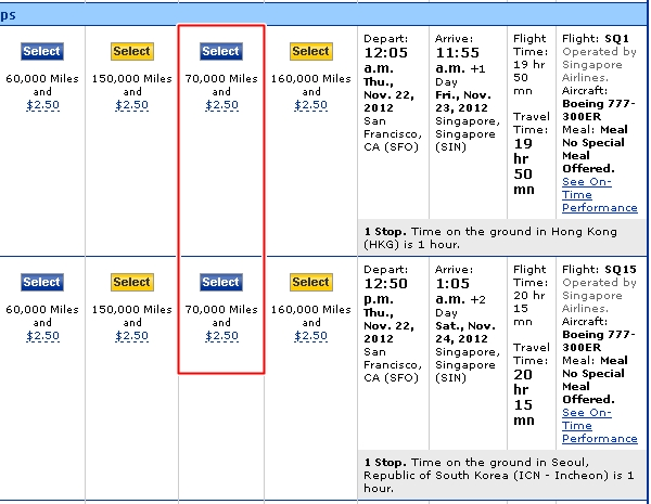 DEAL ALERT: Singapore Airlines First Class Bookable on United!