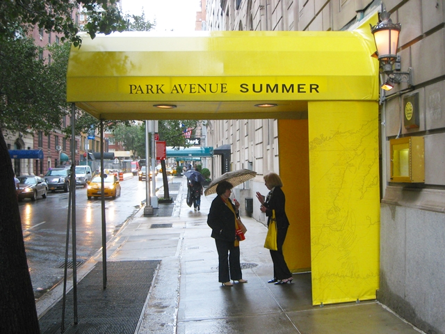 Park Avenue Summer Restaurant Week Menu