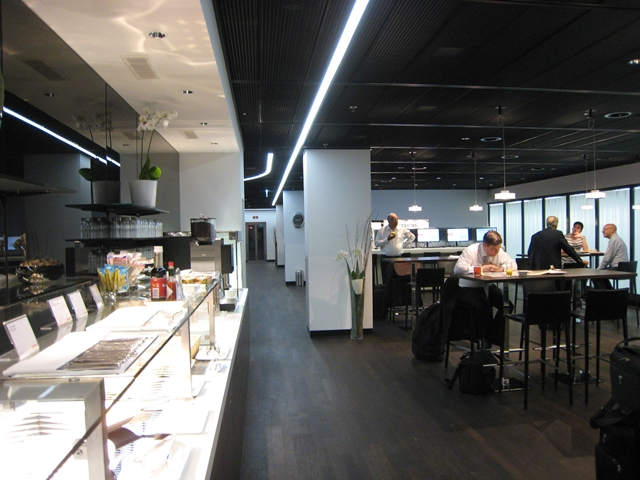 Swiss Arrivals Lounge Zurich Airport