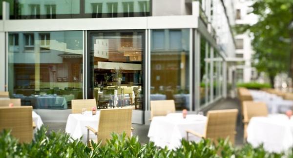 Park Hyatt Zurich Parkhuus Restaurant Review-Terrace