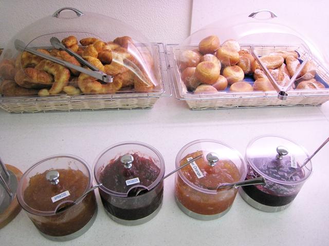 Hotel Bristol Zurich Free buffet breakfast