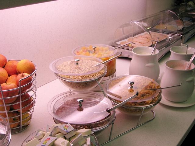 Hotel Bristol Zurich Review-free breakfast buffet