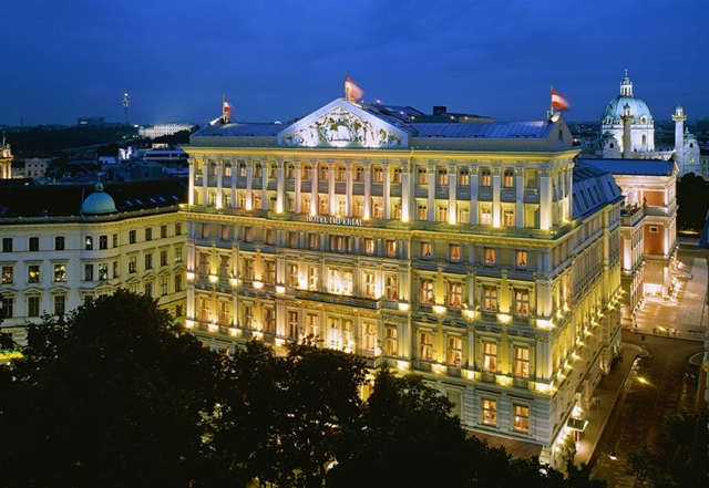 Best vienna luxury hotels for Best hotels worldwide